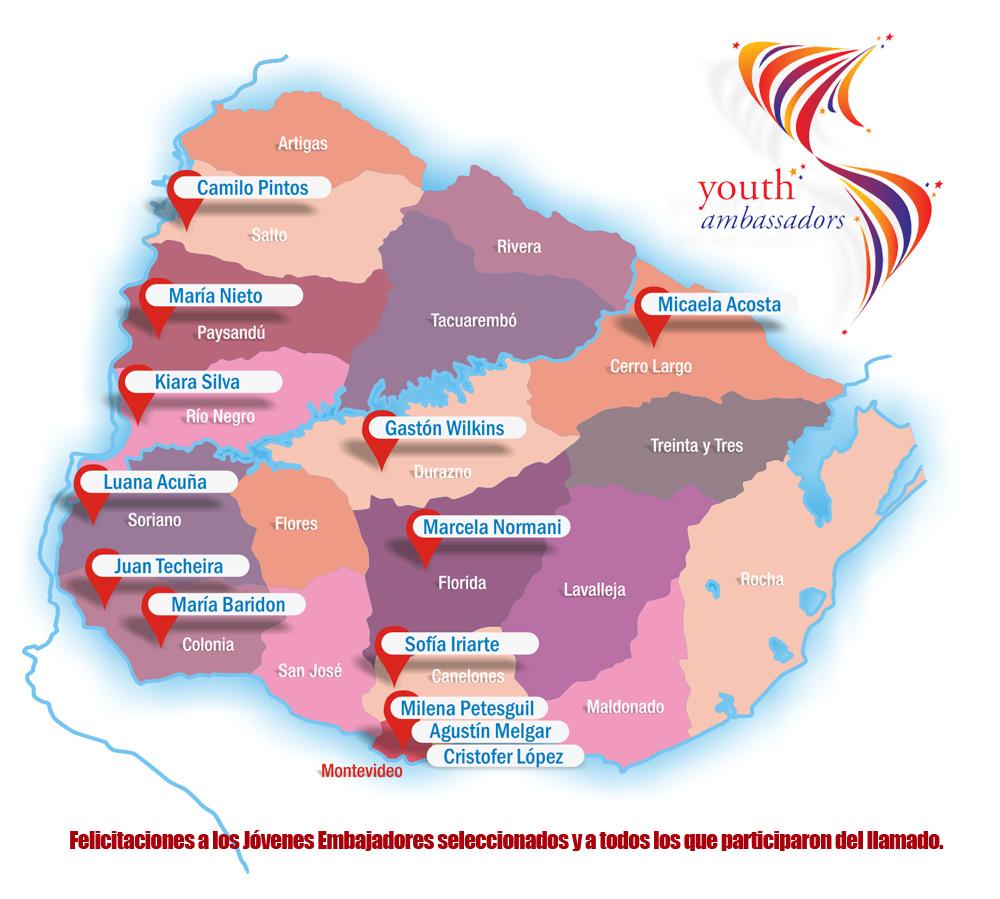 Jóvenes Embajadores Uruguay 2017