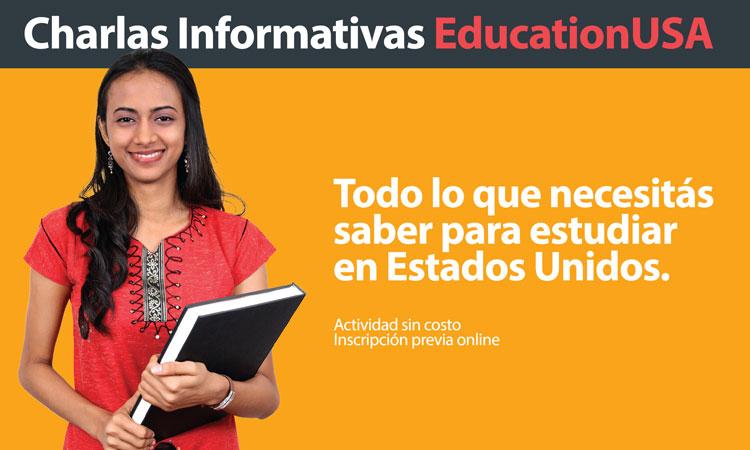 Charlas Informativas sobre estudios en Estados Unidos