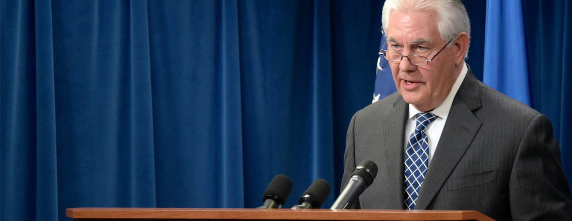 Statement by Secretary Tillerson on the attack in London