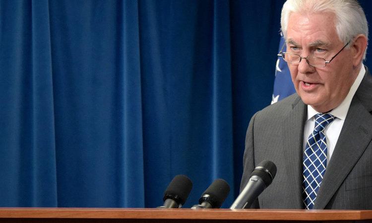 Secretary Tillerson