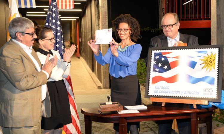 Estados Unidos celebró 150 años de cooperación y amistad con Uruguay