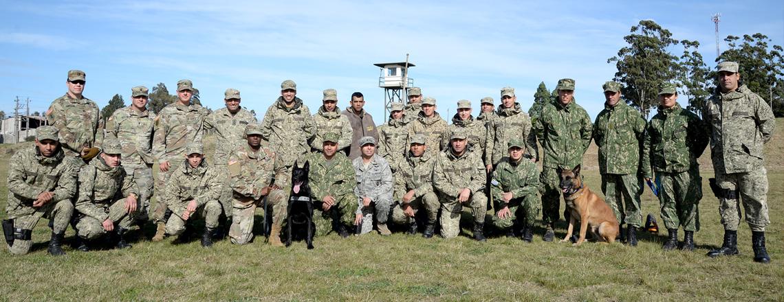 Intercambio con Batallón 192 de la Policía Militar de la Guardia Nacional de Connecticut