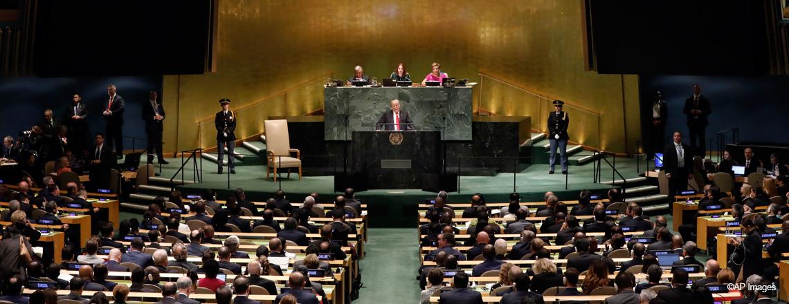 Comentarios del Presidente Trump en el 73.º Período de Sesiones de la Asamblea General de