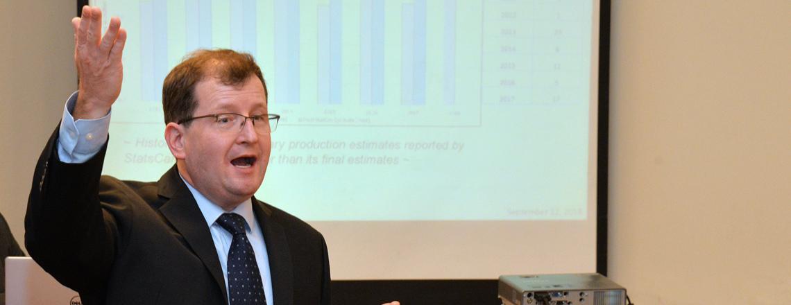 Seth Meyer, Economista Jefe del Departamento de Agricultura de EE.UU. visitó Uruguay