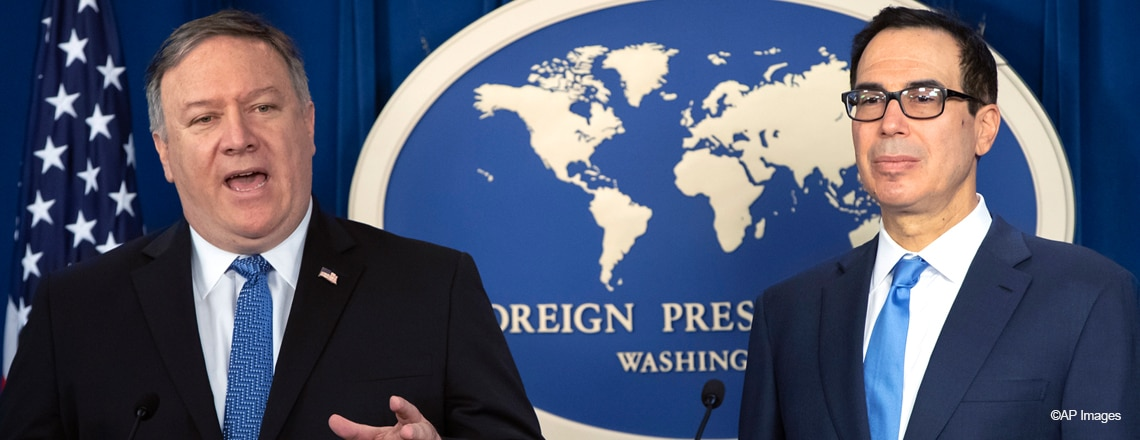 Michael R. Pompeo and Sec. of the Treasury Steven T. Mnuchin on Iran Sanctions