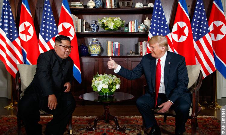 Donald J. Trump y Kim Jong Un